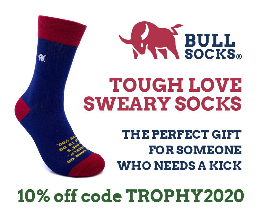 Bull Socks - Sweary Motivational Socks